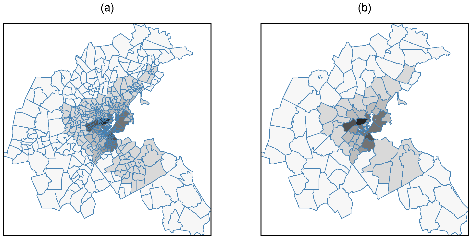 Revisiting the Boston data set – Changing the units of